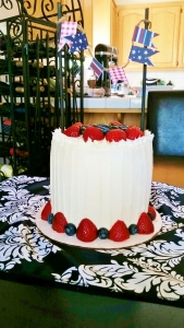 Fourth of July cake 2015 1