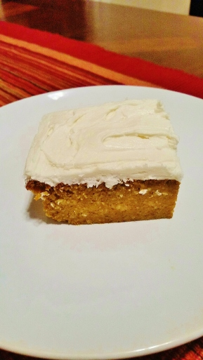 pumpkin bars with honey whiskey