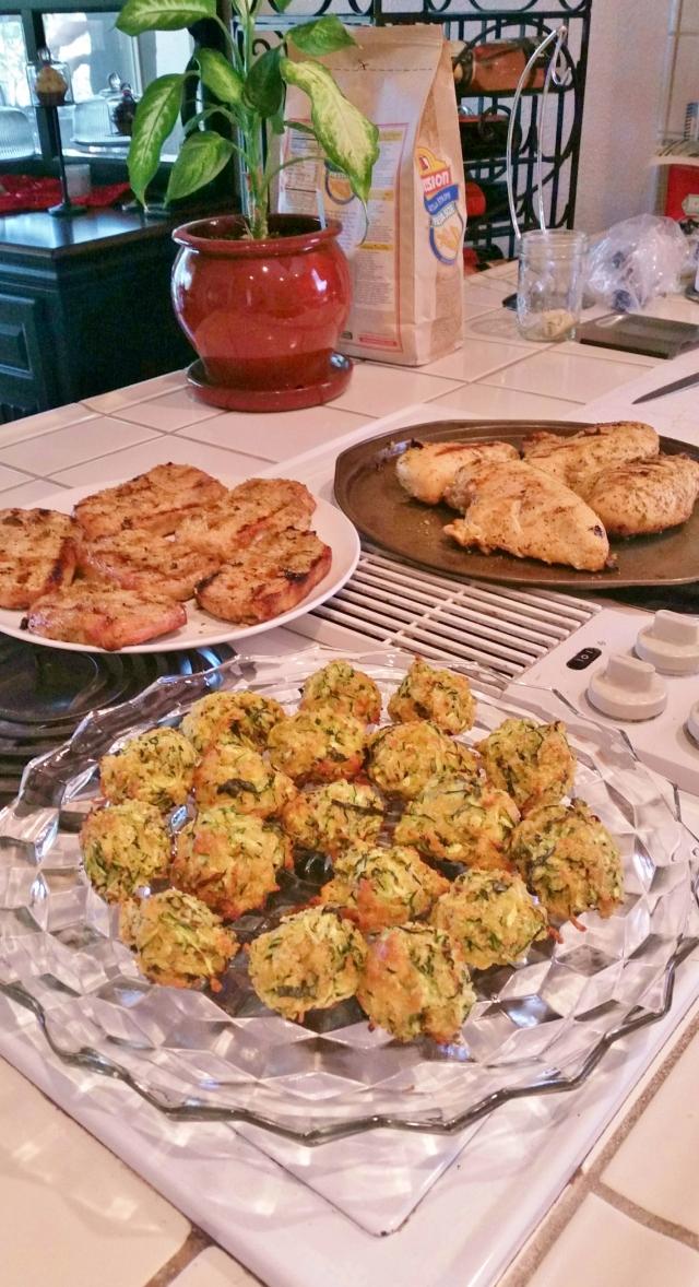 Zucchini Bites  (2)