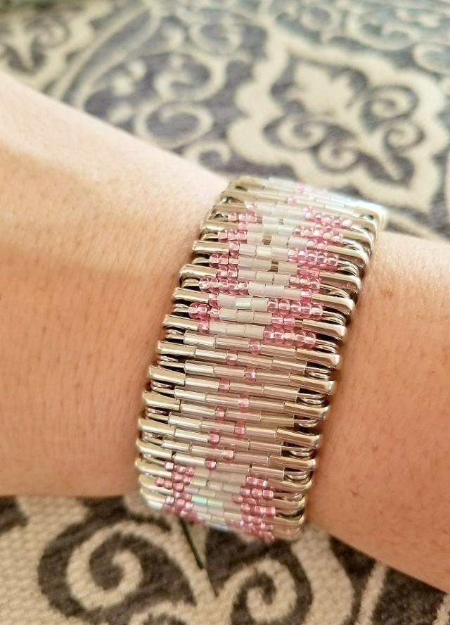 Saftey Pin Bracelet (2)